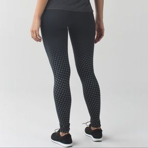 Lululemon Wunder Under Pant Luon Slate Black